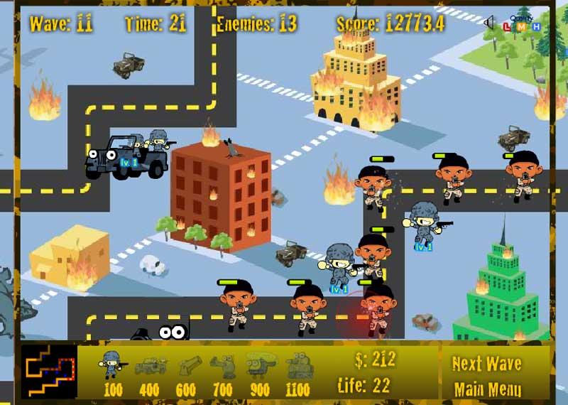 warfare-tower-defence
