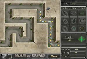 War of Guns Tower Defense